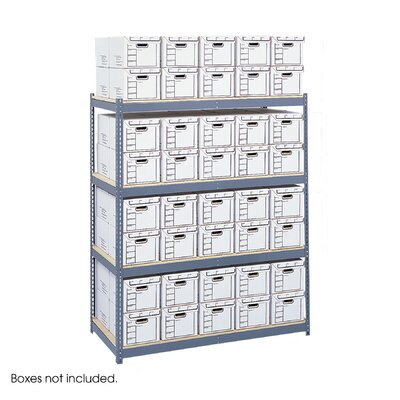 Safco Products Company Archival Shelving Steel Pack