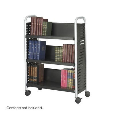 Safco Products Company Scoot Book Cart