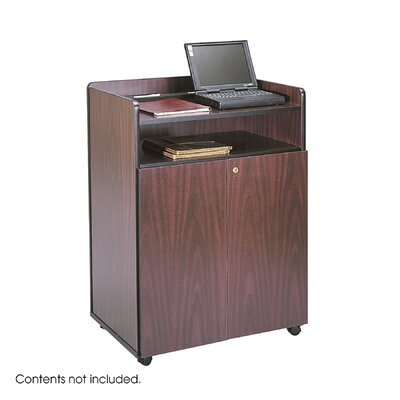 "Safco Products Company Executive Mobile Presentation Stand, 29.5"" Wide"