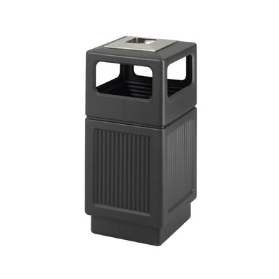Safco Products Company Canmeleon Ash/Trash Square Receptacle