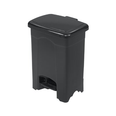 Safco Products Company 4 Gallon Plastic Step-On Receptacle