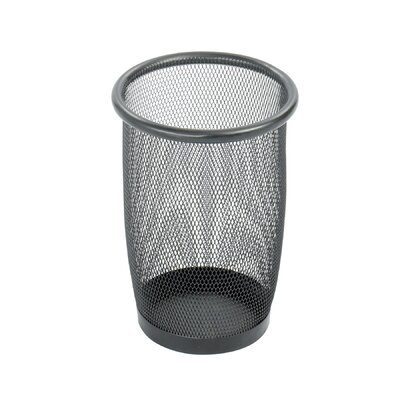 Safco Products Company Onyx Round Mesh Wastebasket, 3 Qt