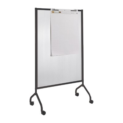 Safco Products Company Impromptu Full Polycarbonate Collaboration Screen