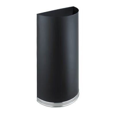 Safco Products Company Half Round Trash Receptacle