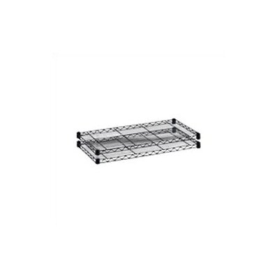 "Safco Products Company Industrial Wire Extra Shelves (18"" x 48"" Shelves) (Set of 2)"