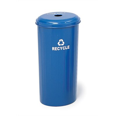 Safco Products Company Tall Recycling Round Receptacle For Cans