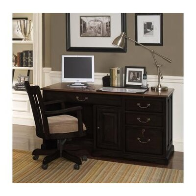 Riverside Furniture Bridgeport Computer Desk with Hutch