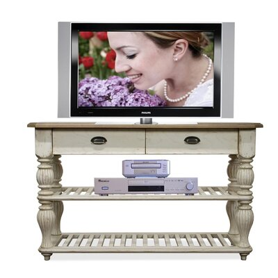 Riverside Furniture Coventry Two Tone Console Table