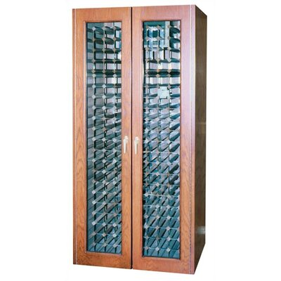 Vinotemp 440 Two Door Oak Wine Cooler Cabinet with Thermal Glass