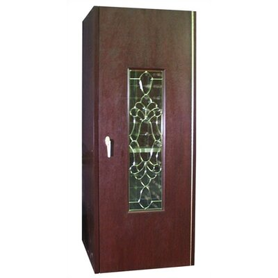 Vinotemp 250 Beveled Glass Oak Wine Cooler Cabinet
