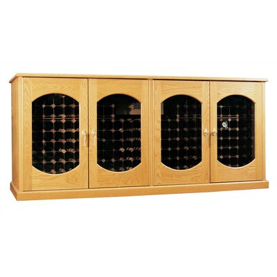 Vinotemp Oak Wine Cooler Credenza Lexington