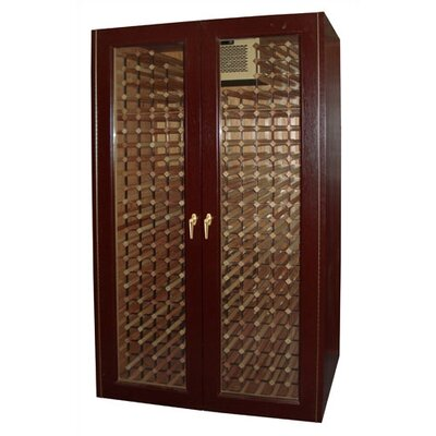 600 Economy 440-Bottle Wine Cooler Cabinet with Glass Windows