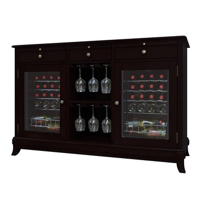 Vinotemp Cava 36-Bottle Dual-Zone Thermoelectric Wine Credenza