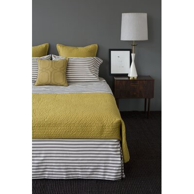DwellStudio Ash Draper Stripe Duvet Collection