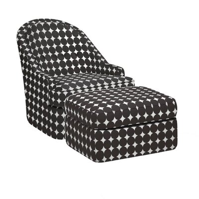 DwellStudio Savoy Glider and Ottoman