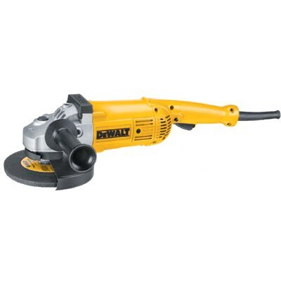 "DeWalt Large Angle Grinders - 7"" 8 000 rpm large anglegrinder w/guard and whee"