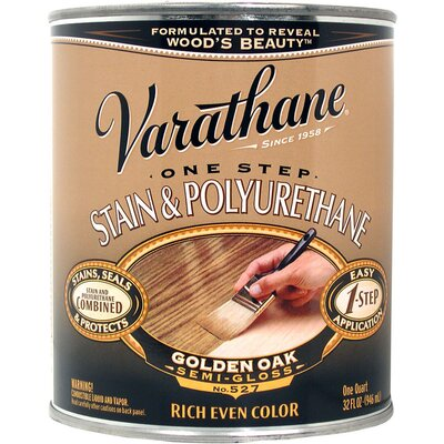 Varathane 1 Quart Golden Oak 1 Step Stain 225244