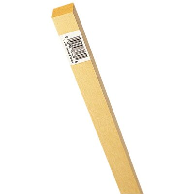Waddell 5/8&quot; X 36&quot; Hardwood Square Dowel 8310U 