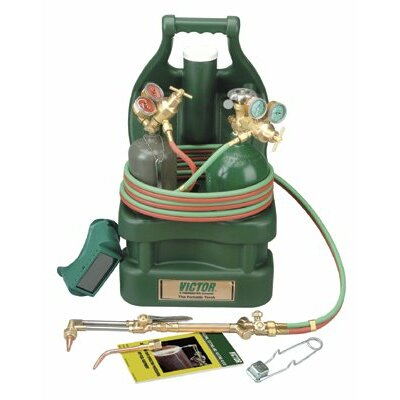 Victor Portable Torch Welding & Cutting Outfits - vic-100-cp tote kit without tanks