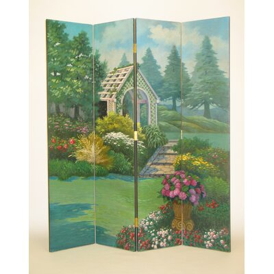 Wayborn Covered Bridge in the Countryside Room Divider