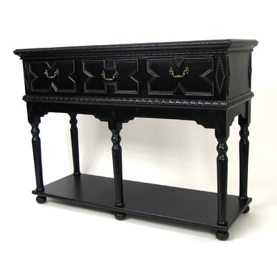 Asian Manor Console Table