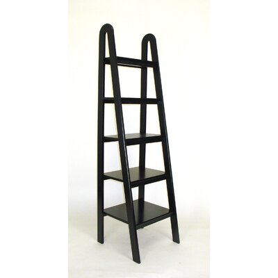 Wayborn Ladder Shelf in Black