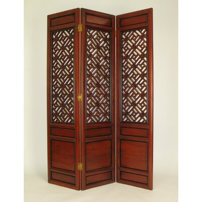 Chestnut Parlor Cross - Hatch Room Divider