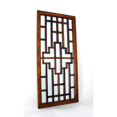 Onfai Mirror in Distressed Brown