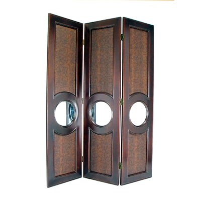 Wayborn Poker Room Divider in Brown
