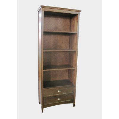 Wayborn Traditional Bookcase in Brown