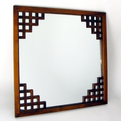 Paragon Mirror in Distressed Brown