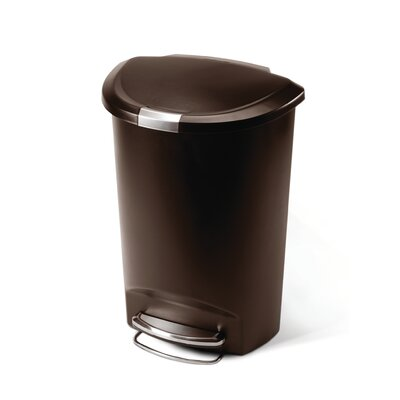 simplehuman Step Trash Can in Mocha