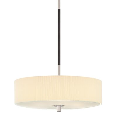 Sonneman Sparte 3 Light Drum Pendant