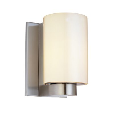 Sonneman Century One Light Short Cylinder Wall Sconce