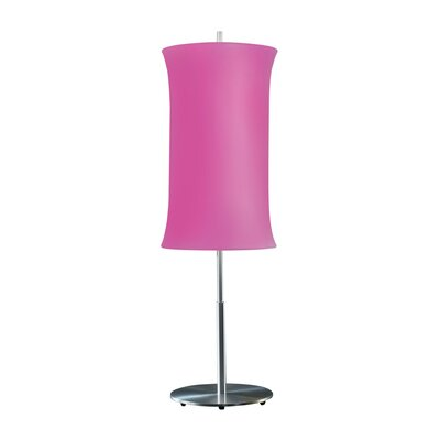 Sonneman Lightweights 2 Light Table Lamp with Spandex Shade