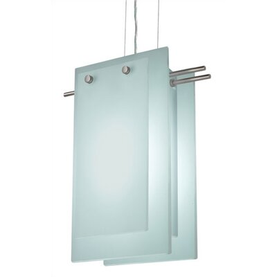 Suspended Glass B 2 Light Foyer Pendant