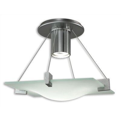 Sonneman Handkerchief 1 Light Semi Flush Mount