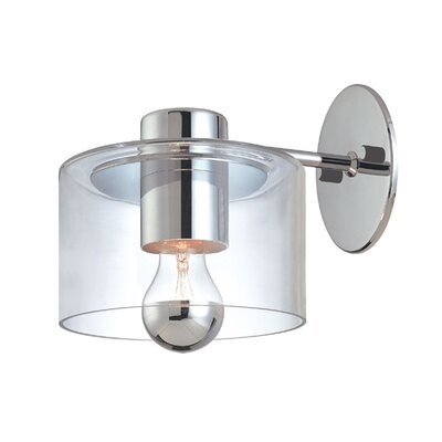 Sonneman Transparence Wall Sconce Extension in Polished Chrome