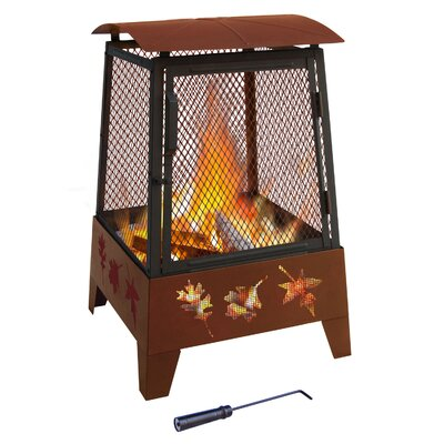 Landmann Haywood Tree Leaves Fire Pit