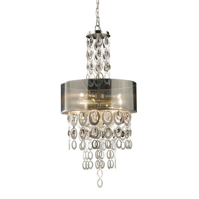 Elk Lighting Parisienne 3 Light Drum Pendant