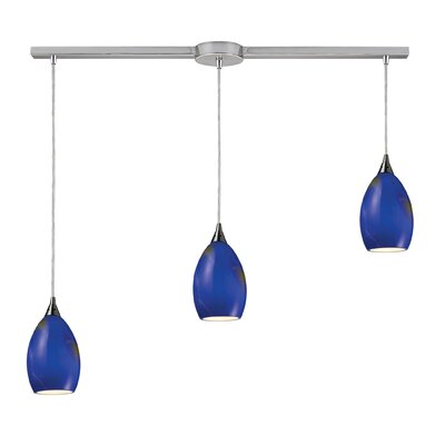 Elk Lighting Tranquility 3 Light Linear Pendant