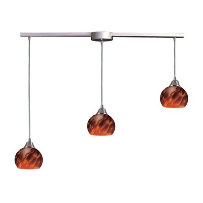 Mela 3 Light Linear Pendant