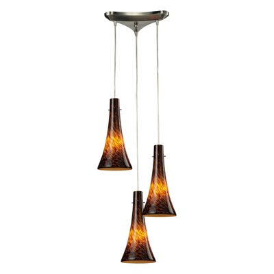 Elk Lighting Tromba 3 Light Pendant