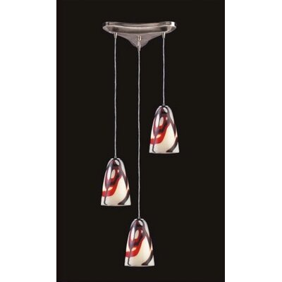 Fuego 3 Light Pendant
