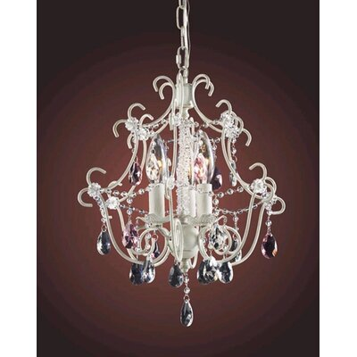 Minique 3 Light Mini Chandelier