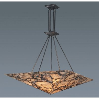 Elk Lighting Imperial Granite 6 Light Inverted Pendant