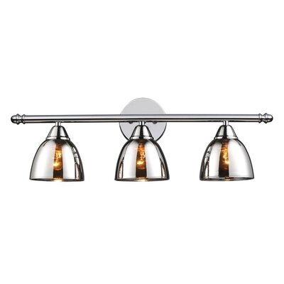 Elk Lighting Reflections Vanity Light in Polished Chrome