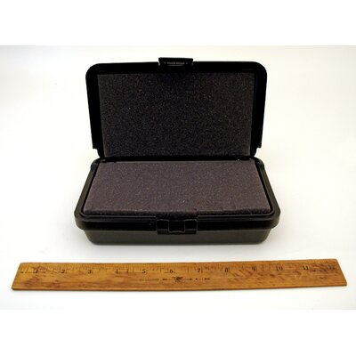Platt Blow Molded Case without Handle in Black: 5 x 8 x 2.25