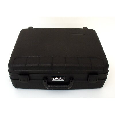 Platt Deluxe Polypropylene Tool Case in Black: 15.5 x 18.25 x 7.25