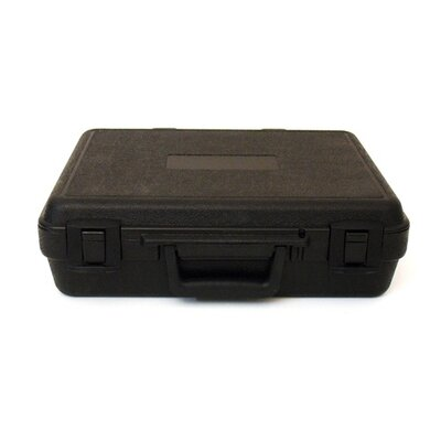 Platt Blow Molded Case in Black: 6.25 x 10.25 x 1.5